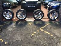 + GENUINE 18 INCH AUDI A4 ALLOYS £495 +