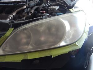 Headlight restoration.