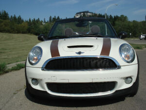 2010 MINI COOPER S CONVERTIBLE, AUTOMATIC, NO GST