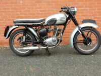 TRIUMPH TIGER CUB 1957 199cc (FITTED WITH LATER 63/64 ENGINE)