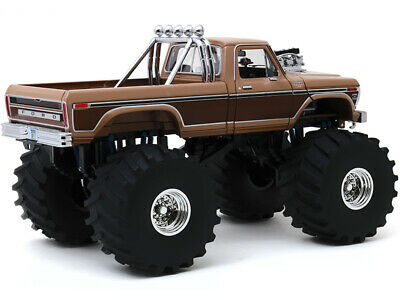 1978 FORD F-350 MONSTER TRUCK BFT W/ 66-INCH TIRES 1:18 MODEL GREENLIGHT 13557