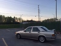 MERCEDES BENZ 190E CARLSSON EURO SPEC