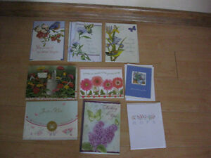 10 assorted get well, notes and thank you cards Kitchener / Waterloo Kitchener Area image 5