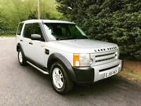 2006 LAND ROVER DISCOVERY 3 2.7 TDV6 AUTOMATIC 7 SEATER 4X4 TURBO DIESEL