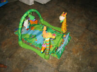 Playmat with Toys- Great anywhere  $20.00