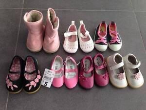 Little Girls Shoe Bundle - Size 4 Dudley Park Mandurah Area Preview