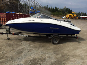 2012 SEA DOO CHALLENGER 180 SE 255HP SUPERCHARGED
