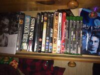 For Sale books, vinyl, dvds, games