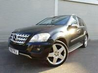 2010 10 MERCEDES-BENZ M CLASS 3.0 ML350 CDI BLUEEFFICIENCY SPORT 5D AUTO 231 BHP