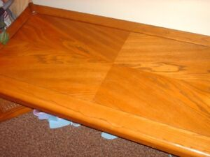 coffee table and two end tables with storage