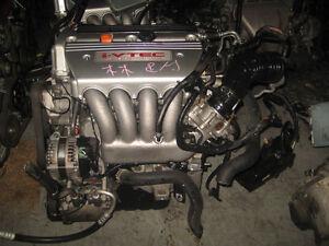 ACURA TSX K24A 2.4L DOHC I-VTEC ENGINE JDM K24A MOTOR 200HP