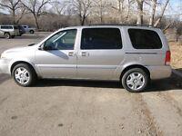 2006 Chevrolet Uplander Silver Minivan, Van