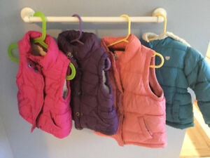 Young Kids Vests and Jackets