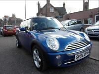MINI HATCH ONE 1.6 2006 Petrol Manual in Blue