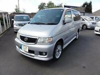 2004 Mazda Bongo 2000 AERO CITY RUNNER UK SAT NAV 4dr