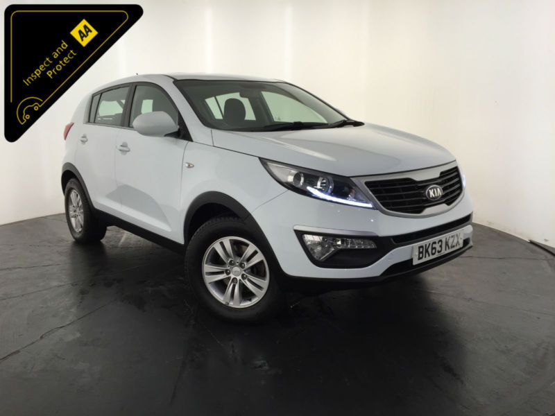 2013 63 KIA SPORTAGE 1 CRDI ESTATE 1 OWNER SERVICE HISTORY FINANCE PX WELCOME