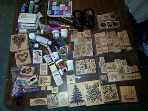 Scrapbook Rubber Stamp Stamping Supplies