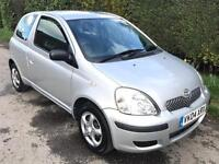 2004 Toyota Yaris 1.0 VVTI 3 Door Hatchback