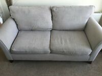 John Lewis sofa and armchair