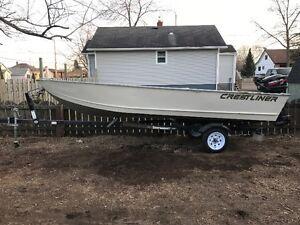 Crestliner Boat and Motor