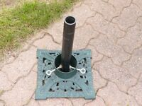 Cast Iron Umbrella Stand – also is a Christmas Tree Stand