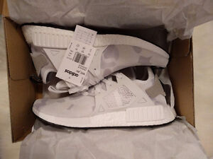 NMD XR1 White Duck Camo size 10