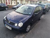 VW polo 1.9 SDI Twist 3 door 2004