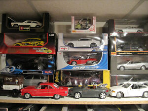 Over 250 1/18 Diecast Cars . Also Books,Brochures & Magazines