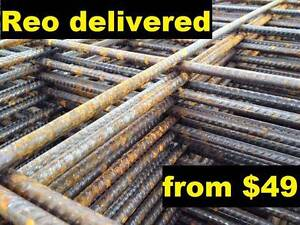 Reo Concrete Mesh Steel Sheet - F52 F62 F72 F82 & more Beenleigh Logan Area Preview