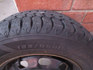 REDUCED TO SELL FAST- Set of (4) Snow Tires w/Rims $550 OBO!