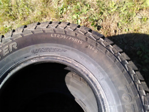 235/75/R15 Mud and Snow Tires