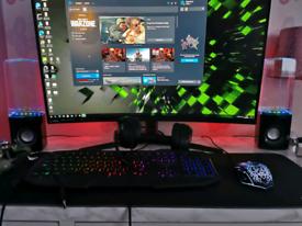 MSI Optix AG32CQ 32 inch QHD FreeSync 144Hz Curved Gaming Monitor