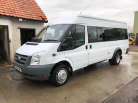 Ford Transit 2.4TDCi Duratorq ( 115PS ) 430EL ( Med Roof ) 17 Seat Minibus