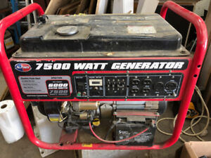 7500W All Power Generator (Parts)