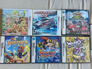 Nintendo 3DS and DS games for sale or trade