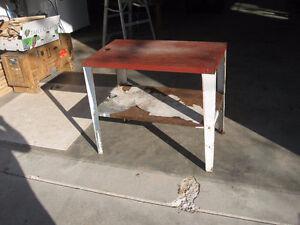 Steel table Belleville Belleville Area image 1
