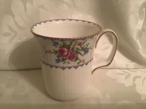 Vintage Royal Albert Petit Point Coffee Mug