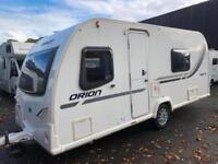 ☆ 2013/14 BAILEY ORION 460/ 5 BERTH ☆ TOURING CARAVAN ☆, used for sale  Hengoed, Caerphilly