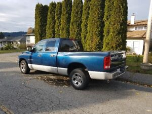 2003 Dodge Power Ram 1500 Pickup Truck PRICE REDUCED TO $4,500.0
