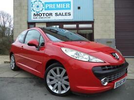 2006 (56) PEUGEOT 207 1.6 HDI 110 GT, LEATHER SEATS, SUPERB CONDITION!