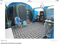 Kampa Filey 6 family tent - In excellent condition. £350.00 OVNO