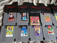 NINTENDO NES GAMES / JEUX 5$+ PAS CHERE [MONTREAL ONLY]
