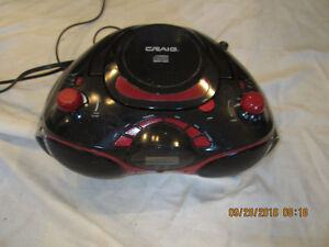 CD PLAYER WITH RADIO
