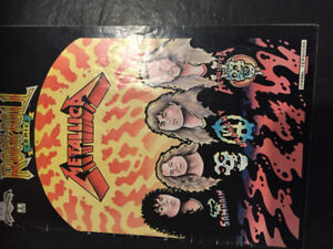 Rock and Roll Comics Metallica