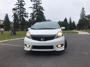 2012 White Honda Fit Sport - GREAT CONDITION, SINGLE OWNER