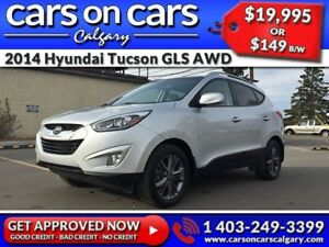 2014 Hyundai Tucson GLS AWD w/Leather, Sunroof $149 B/W INSTANT