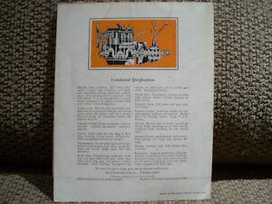 1930's Whippet sales folder   RARE Peterborough Peterborough Area image 2