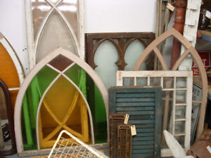 ANTIQUE WINDOWS AND BUILDING MATERIALS FROM CENTURY HOMES