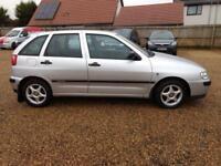 2001 Seat Ibiza 1.4 2002MY Chill 15 SERVICE STAMPS 67K