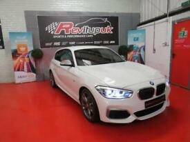 2017/67 BMW M140i 3 DOOR - 340BHP - 6 SPEED - RED LEATHER - ONLY 3K MILES